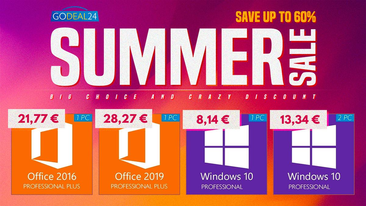 GoDeal24 casse le prix de ses clés pour fêter l'arrivée de l'été
