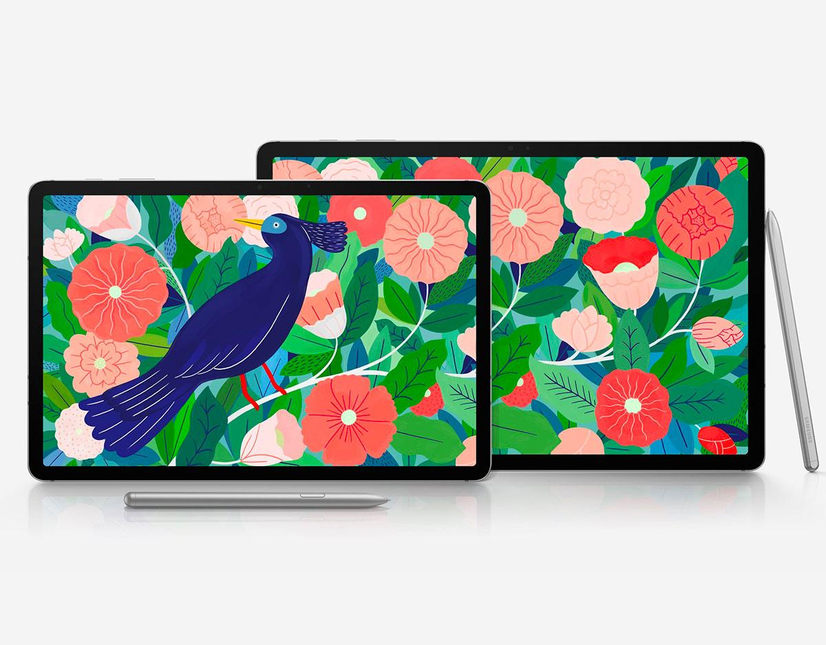 Les Galaxy Tab S7 et Tab S7+