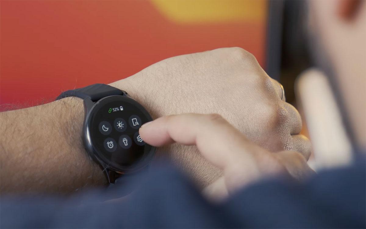 La OnePlus Watch en action