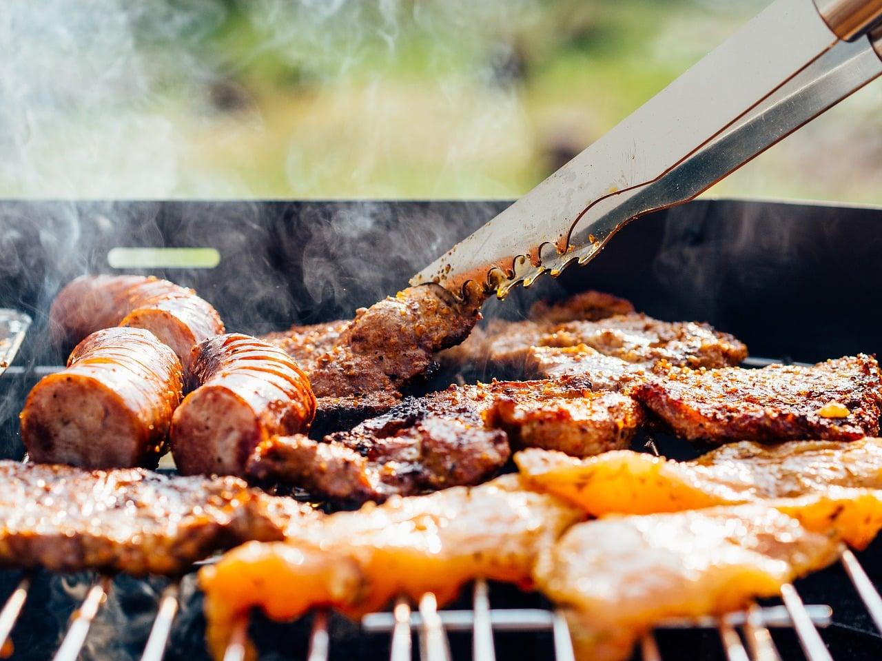 Un barbecue bien allumé