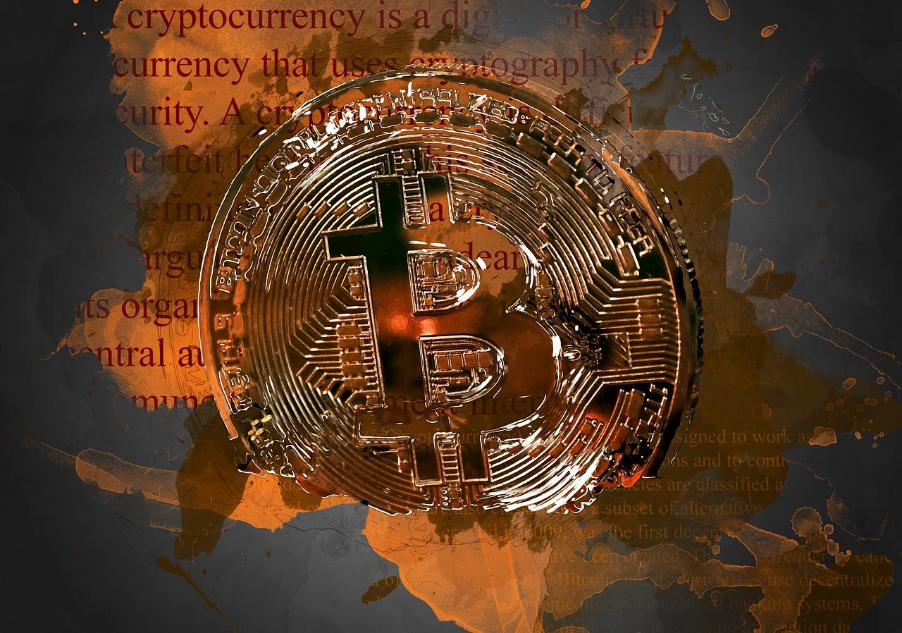 Une pièce de Bitcoin pour représenter la cryptomonnaie