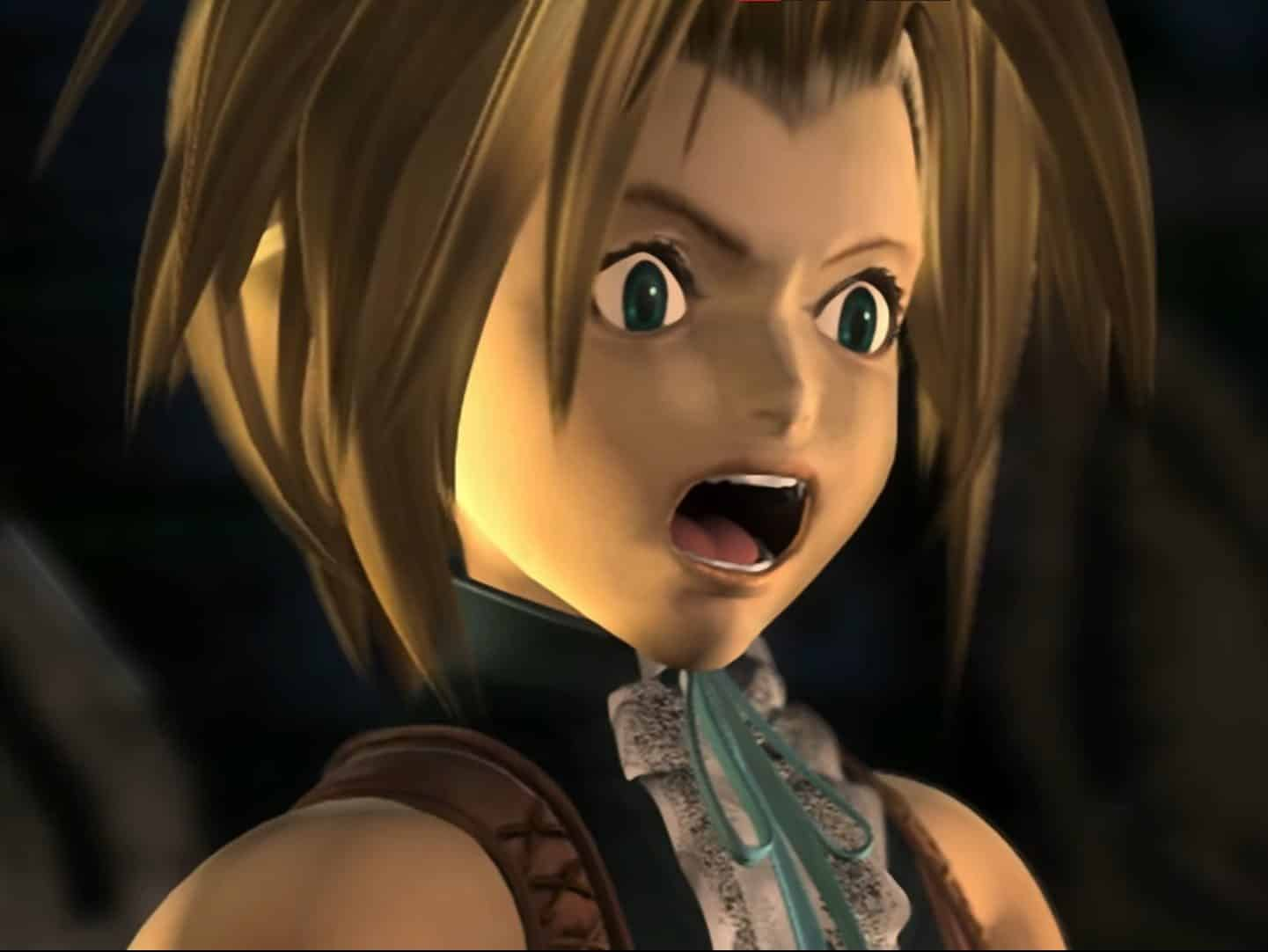 Un personnage de Final Fantasy