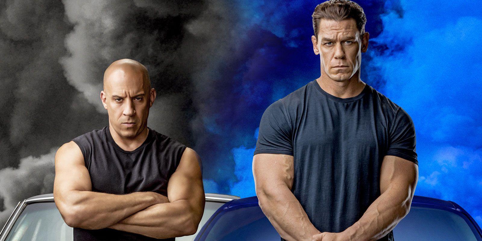 Vin Diesel aux côtés de John Cena