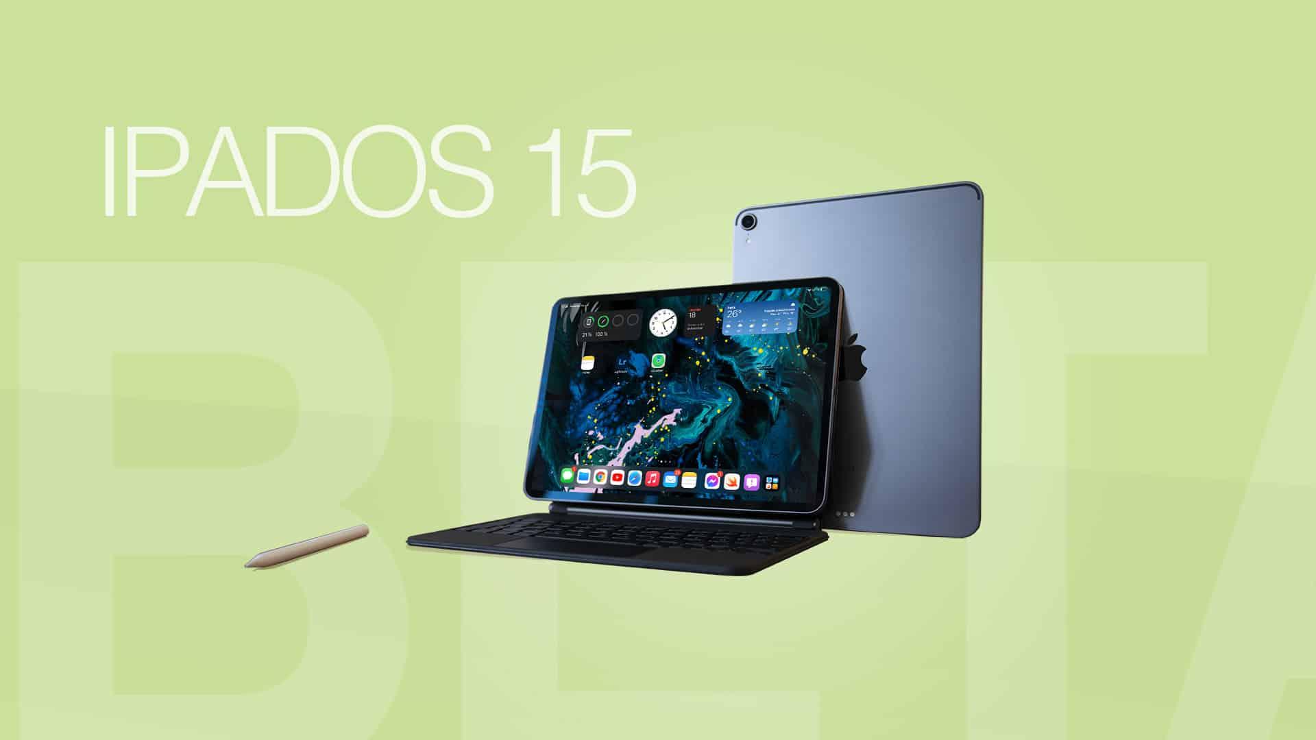Une image à la une représentant iPadOS 15