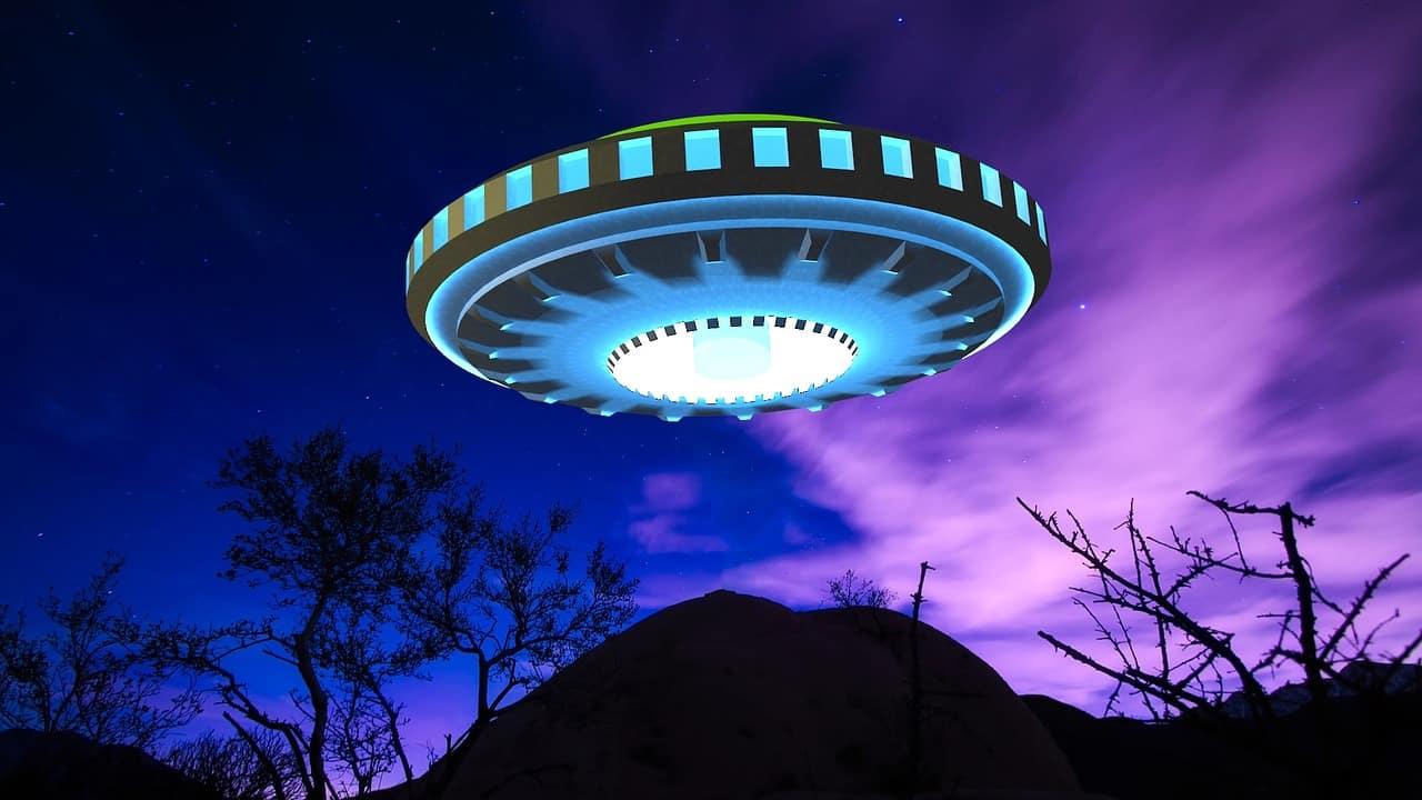 Une soucoupe volante, une image souvent utilisée pour symboliser les OVNIs