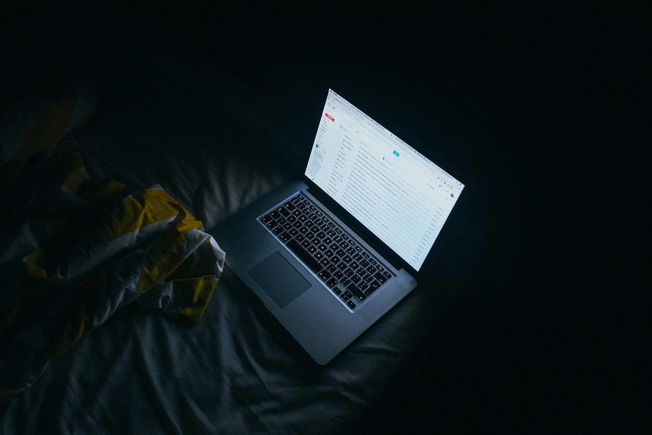 Gmail ouvert sur un Mac