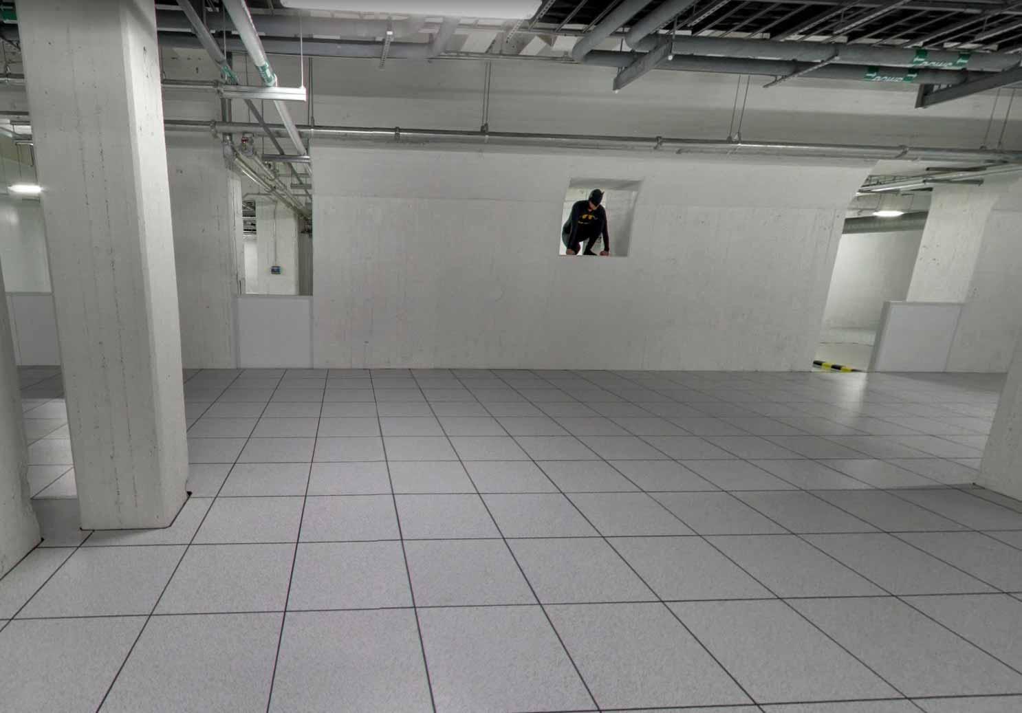 Un panorama capturé dans l'un des data centers de Google