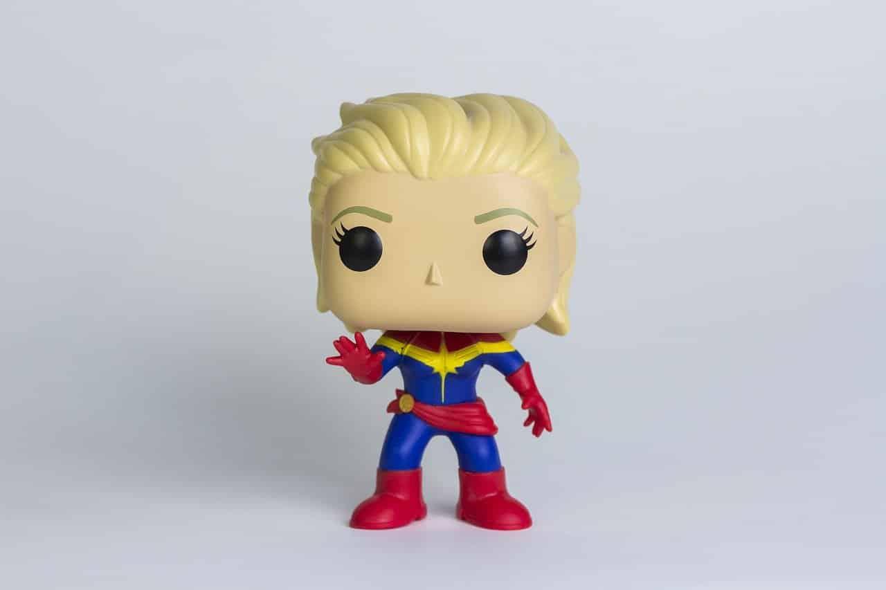 Captain Marvel en figurine POP