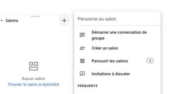 Une autre capture du nouveau Gmail