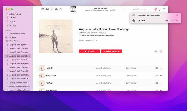 Diffuser du contenu sur Apple Music