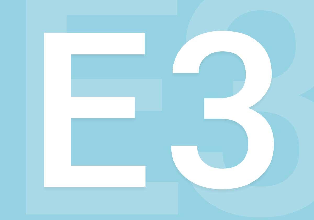 Une image représentant l'E3, le grand salon dédié aux jeux vidéo