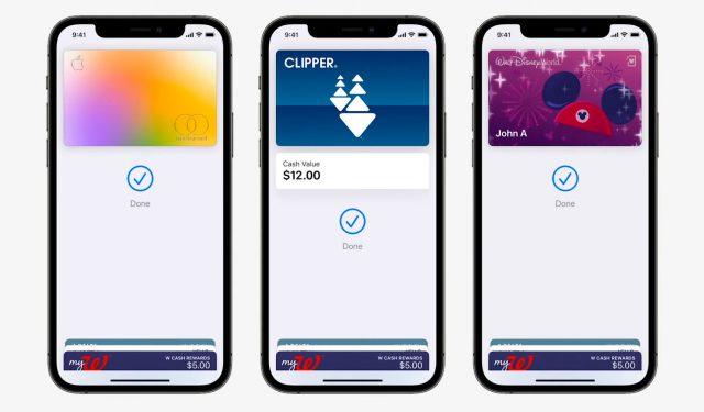 Il y a du neuf pour Apple Wallet