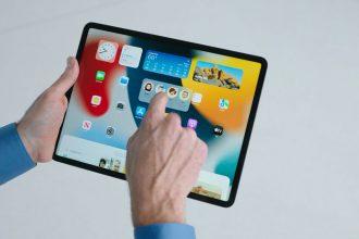 iPadOS 15 en fonctionnement