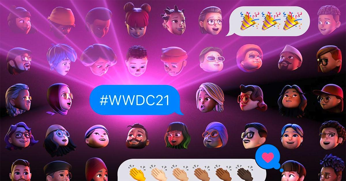 Le Keynote de la WWDC 2021, c'est ce soir ! Crédits Apple