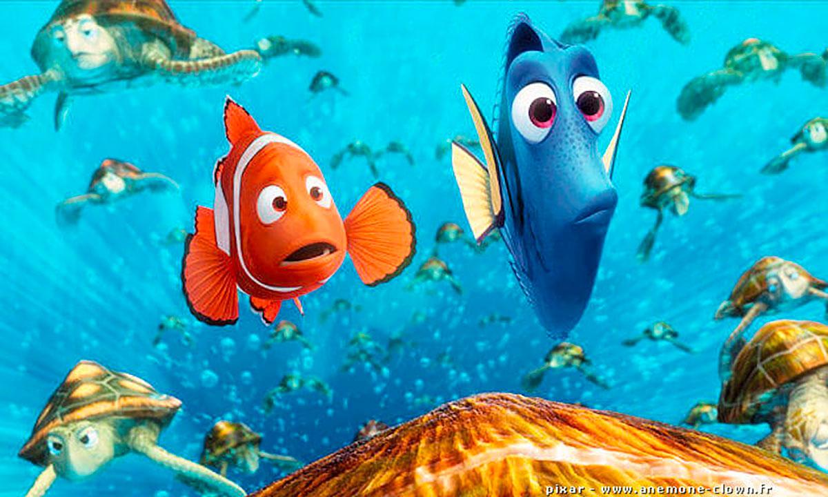 Une image du Monde de Nemo