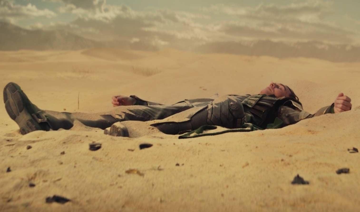 Loki dans le désert