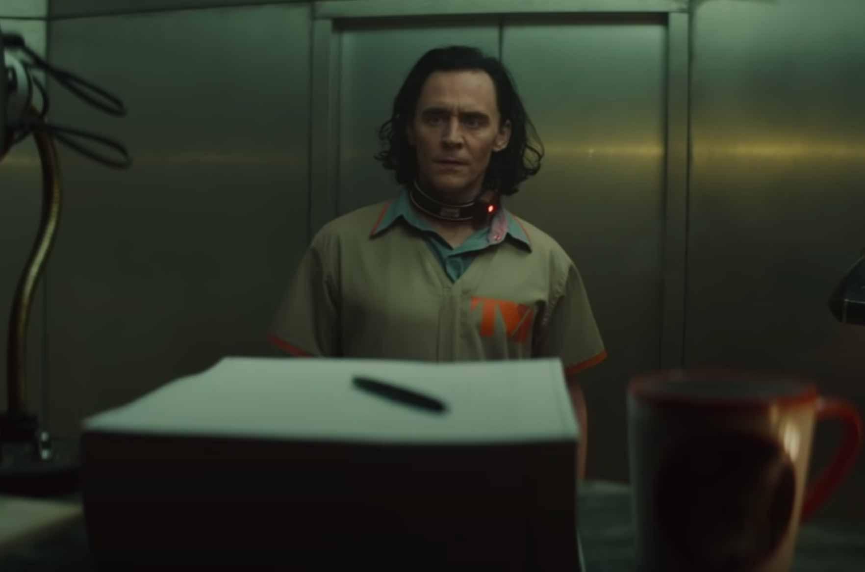 Loki devant l'histoire de sa vie