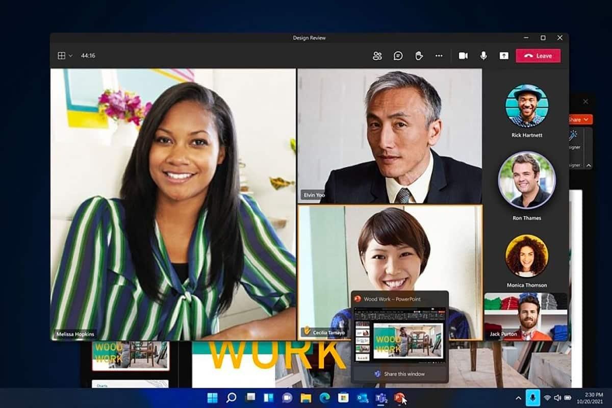Il sera possible de couper le microphone de Windows 11 en un clic