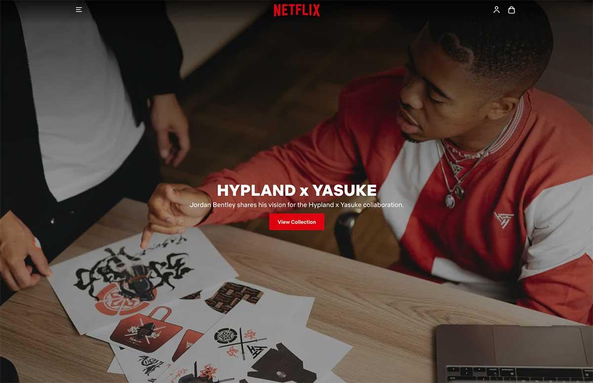 Netflix se lance dans l'e-commerce