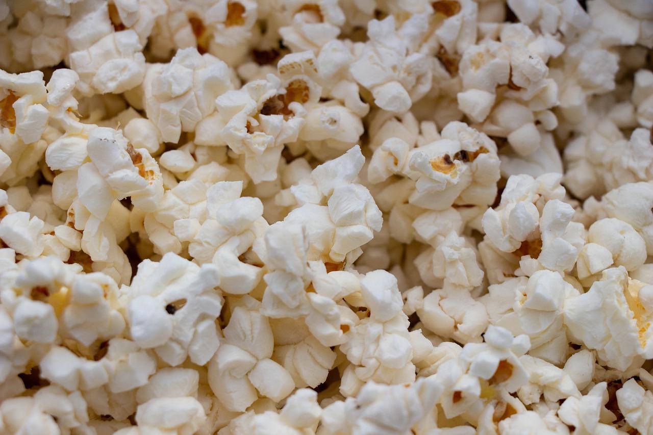 Une photo de popcorn