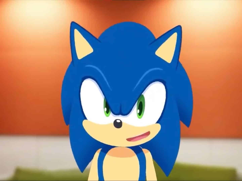 Une photo de Sonic, la mascotte de SEGA