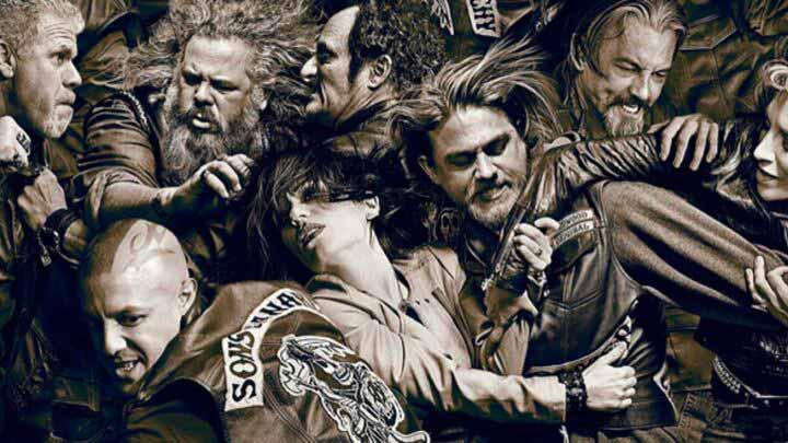 Une affiche de Sons of Anarchy