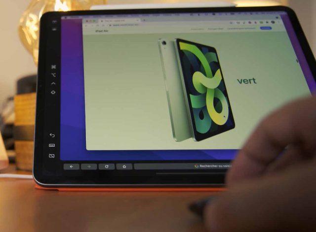L'iPad Pro peut aussi être utilisé comme deuxième moniteur