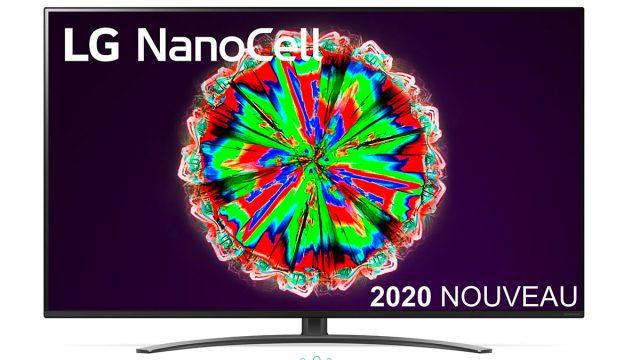 La TV LED LG NanoCell 55NANO816