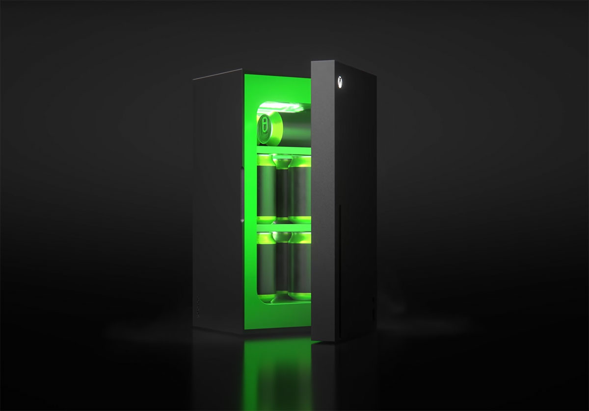 Le Xbox Mini Fridge, le meilleur compagnon de votre Xbox Series X