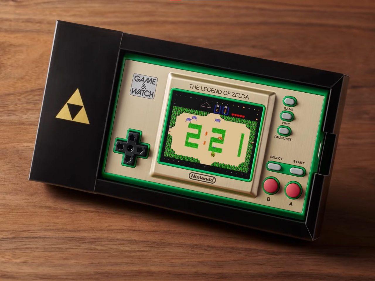 La nouvelle Game & Watch de Nintendo