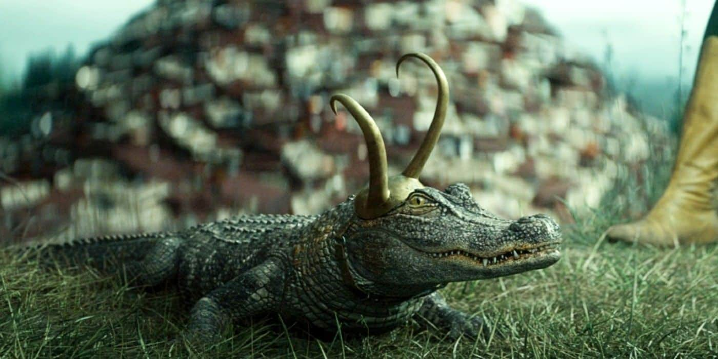 Alligator Loki, l'un des nombreux Variants du Dieu de la Malice dans Loki