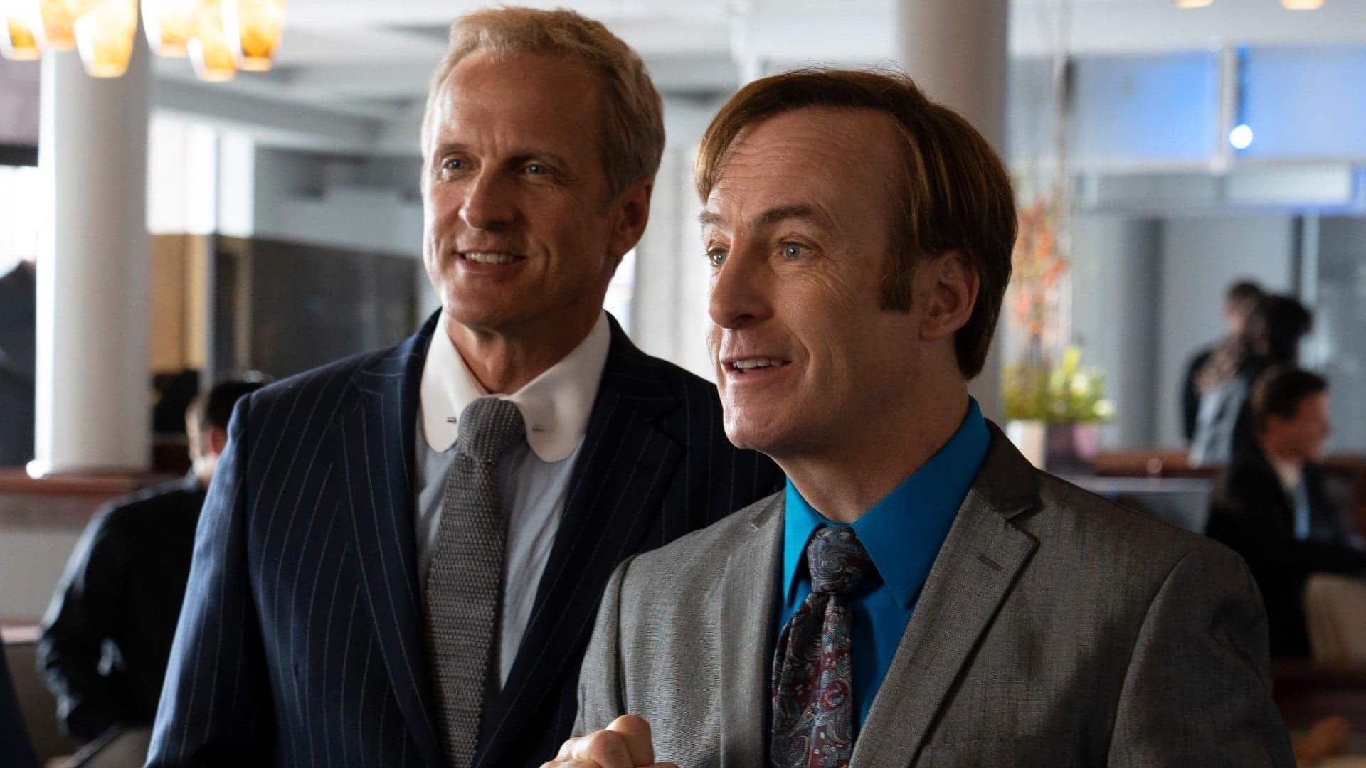Bob Oderkirk sur le tournage de Better Call Saul