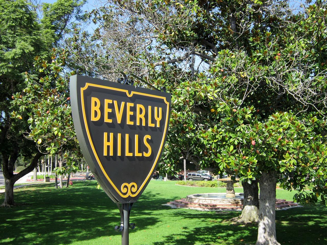 Le panneau de Beverly Hills