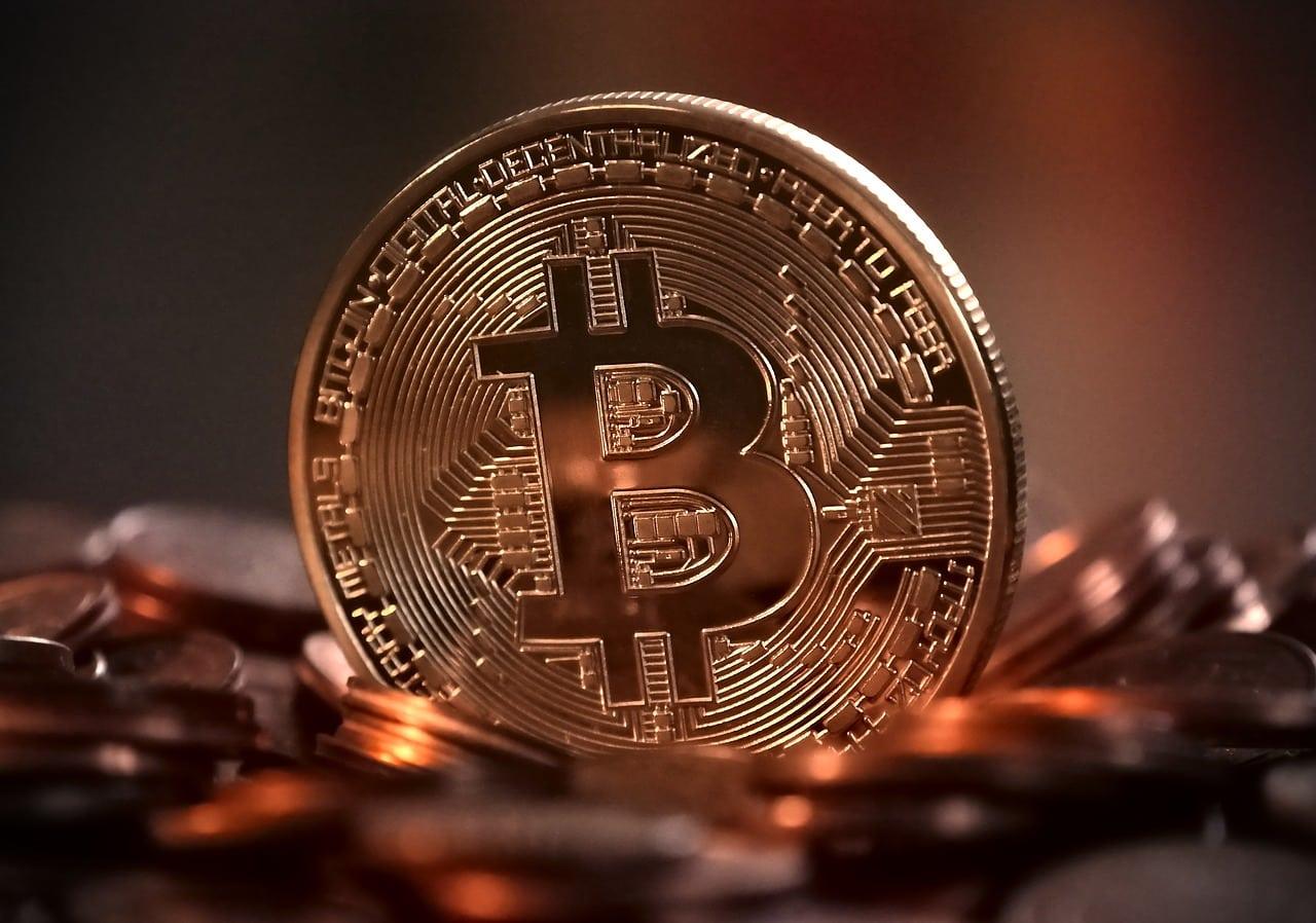 Une pièce symbolisant le Bitcoin
