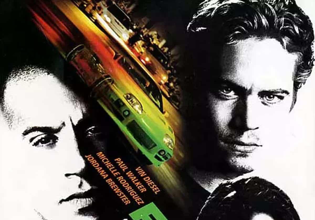 L'affiche du premier Fast & Furious