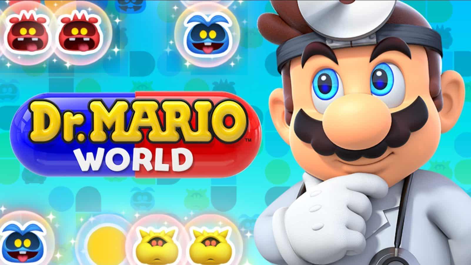 La jaquette de Dr. Mario World