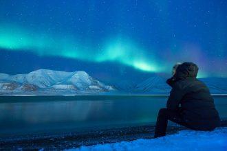 La photo d'un paysage glacé