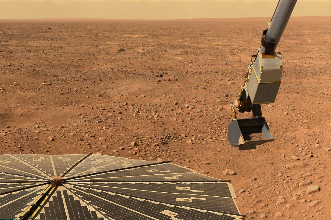 L'un des nombreux rovers présents sur le sol de Mars