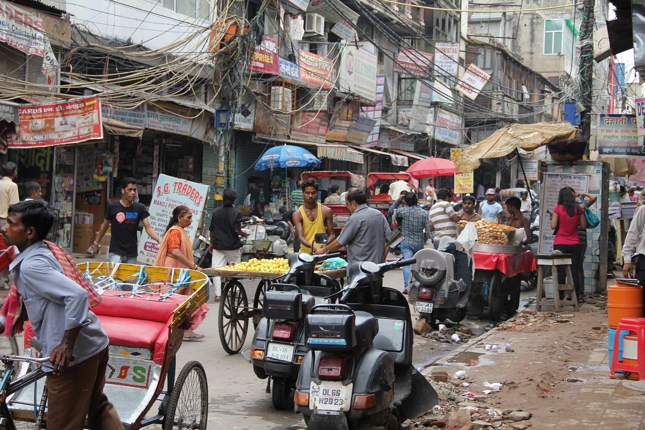 Une photo de l'Inde
