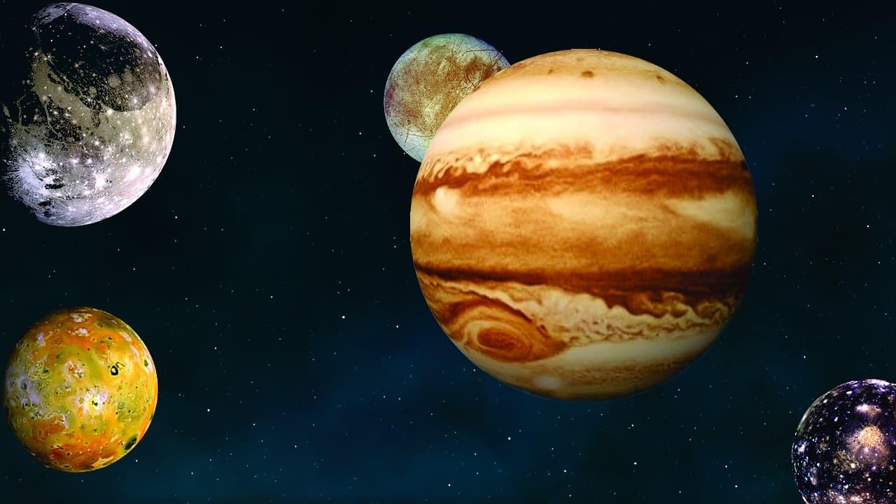 Jupiter et ses lunes