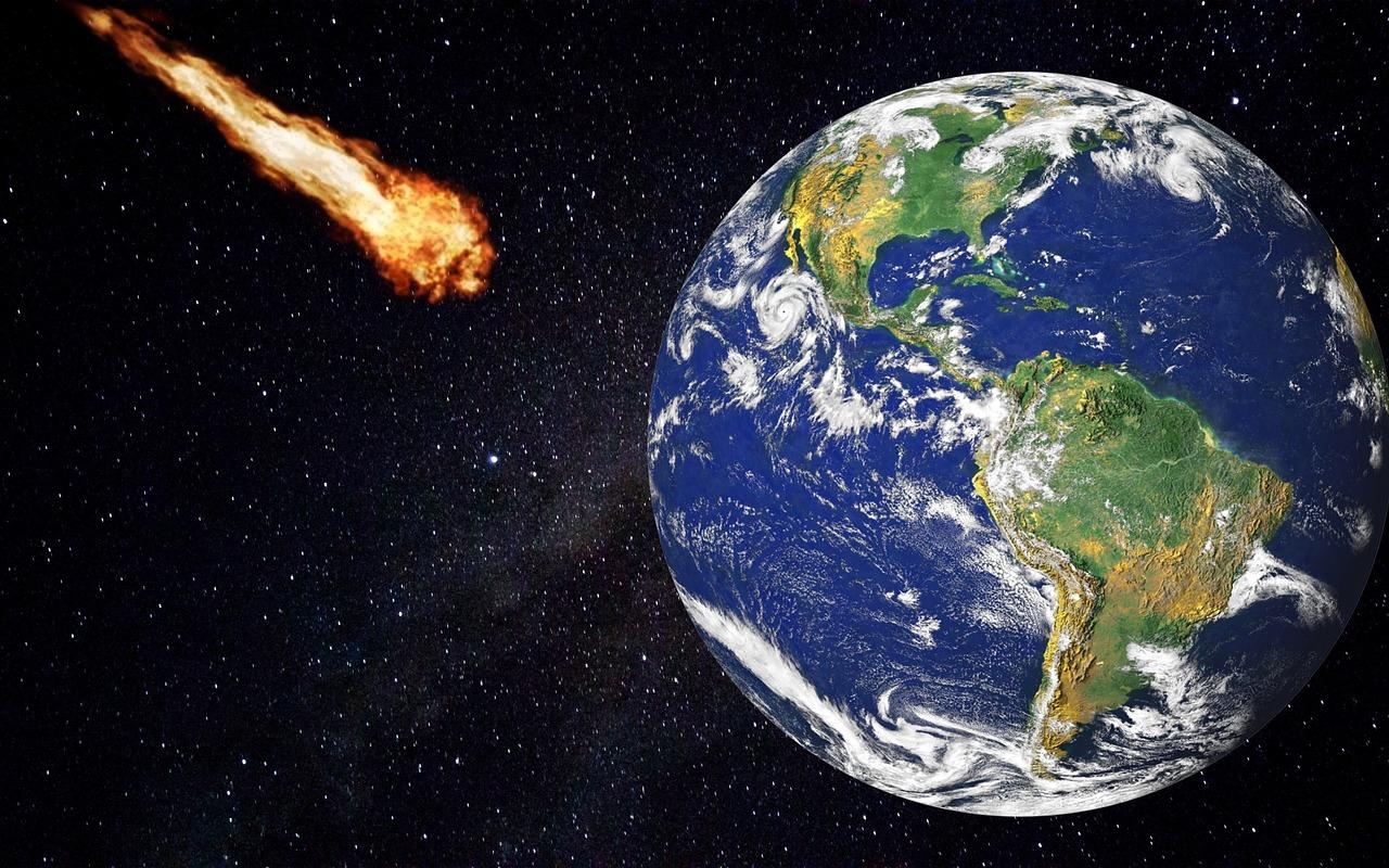 Un astéroïde fonçant sur la Terre