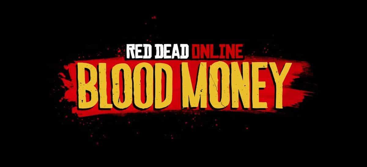 Blood Money, une nouvelle mise à jour pour Red Dead Online