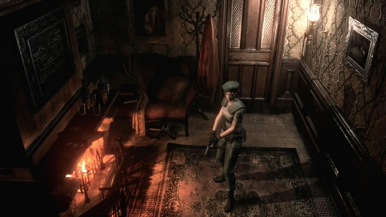 Un extrait de Resident Evil