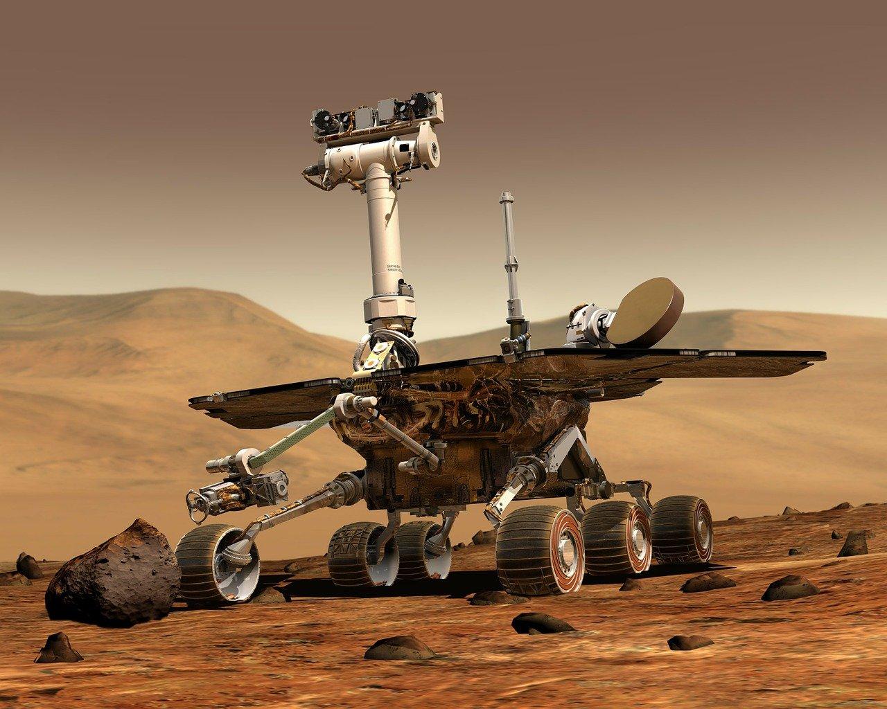 L'un des nombreux rovers envoyés par la NASA sur Mars