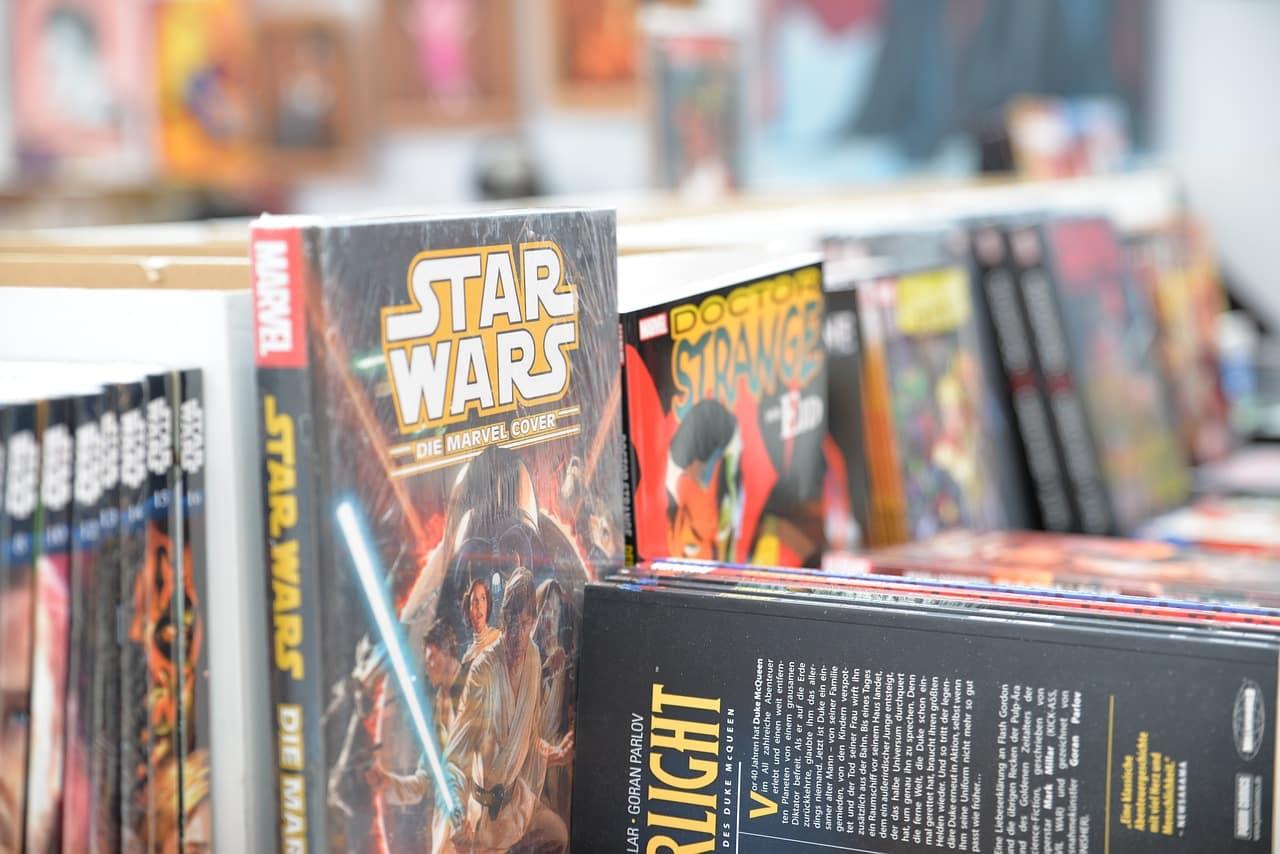 Des livres Star Wars en librairie
