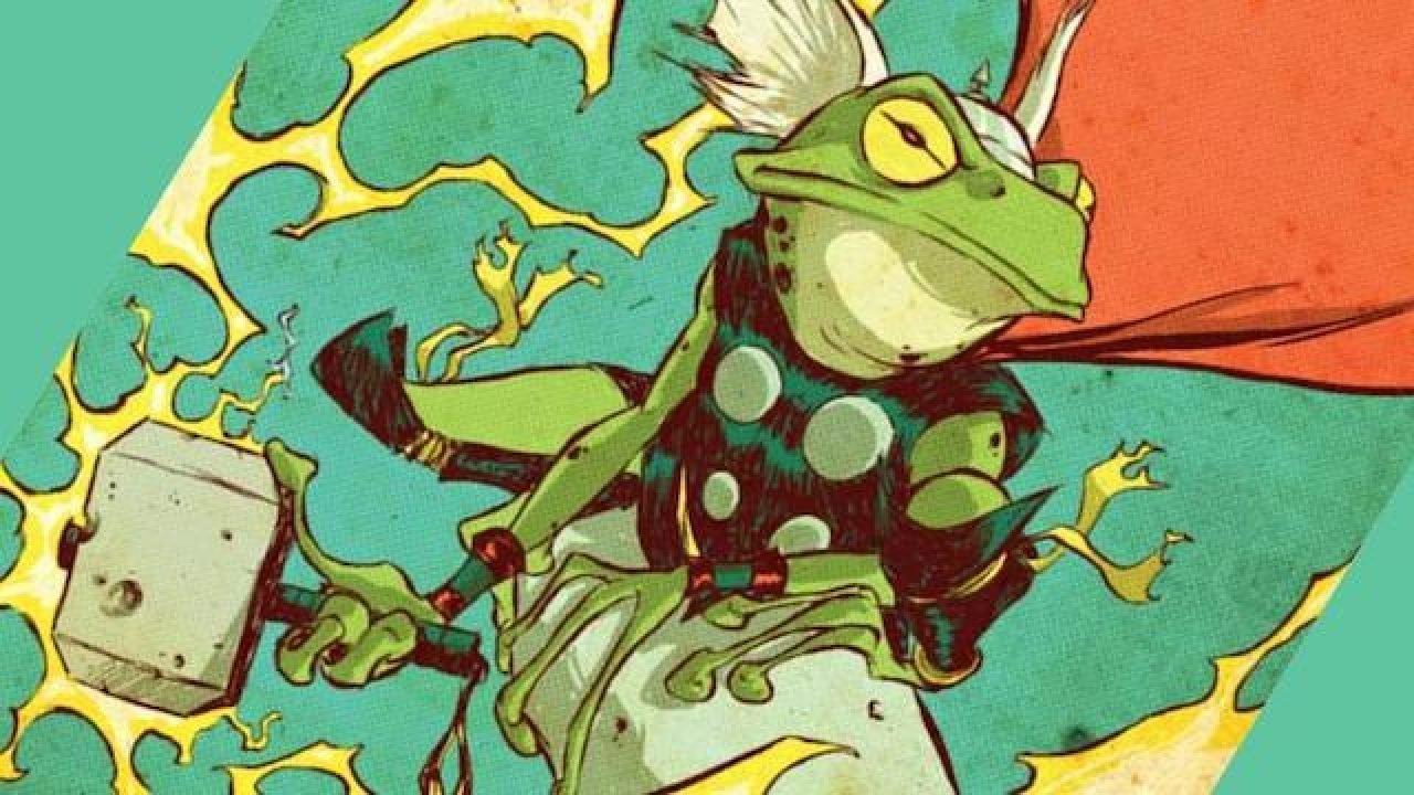 Frog Thor, la version grenouille de Thor
