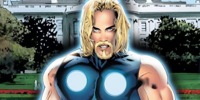 Quand Thor devient président des Etats-Unis