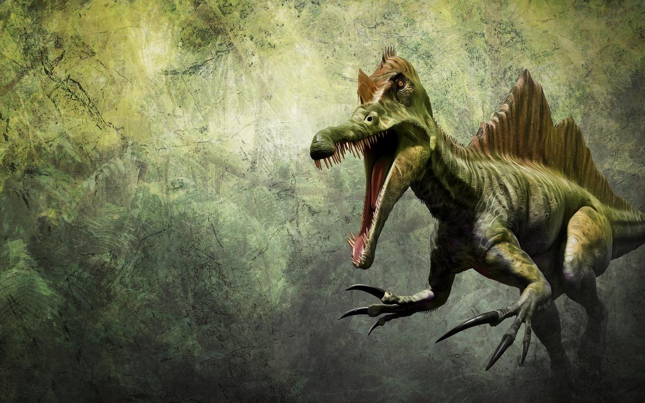 La photo d'un dinosaure