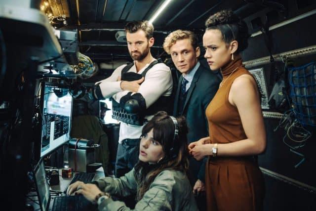 Dieter et son équipe dans Army of Thieves