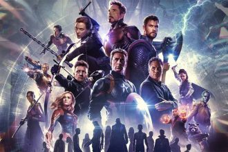 Iron Man et Captain America sur l'affiche des Avengers